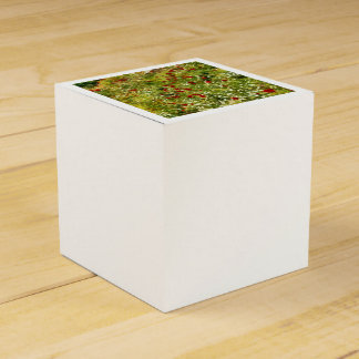 Impressionist Poppies Favor Box