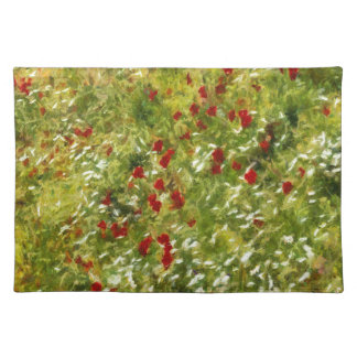 Impressionist Poppies Placemat