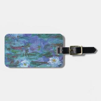 Impressionist Texture Bag Tag