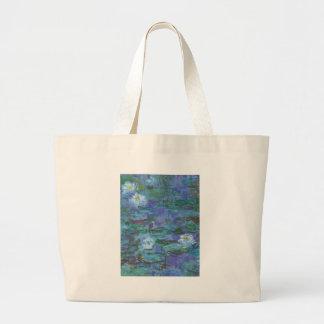 Impressionist Texture Large Tote Bag
