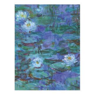 Impressionist Texture Postcard