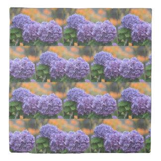 Impressionistic Hydrangea Duvet Cover