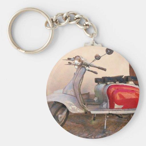 Impressitaly Lambretta Scooter Keychains