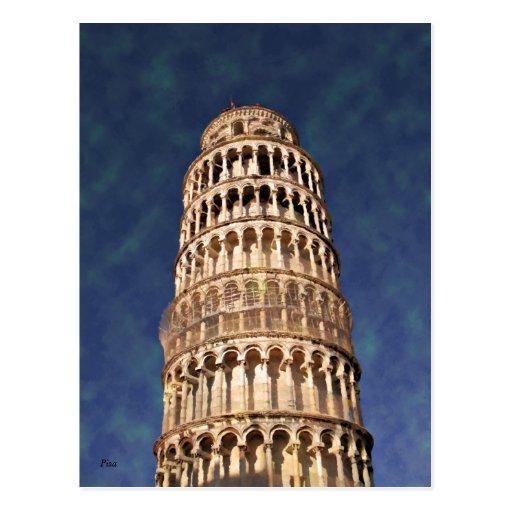 Impressitaly Pisa Torre Pendente Post Cards