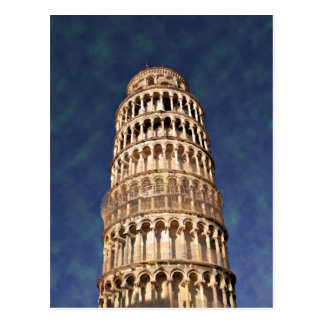 Impressitaly Pisa Tower Postcard
