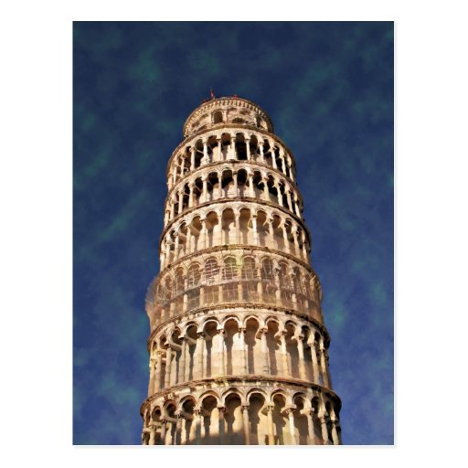 Impressitaly Pisa Tower Post Card