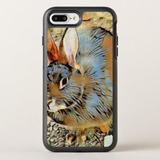 Impressive Animal - Bunny OtterBox Symmetry iPhone 8 Plus/7 Plus Case