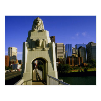 Impressive gateway to the city, Calgary, Alberta, Postcard