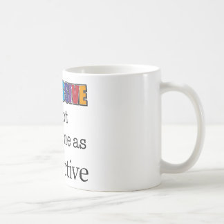 IMPRESSIVE is not the same as attractive Mug