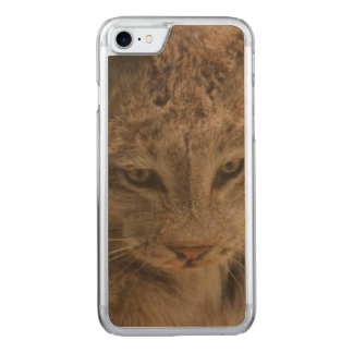 Impressive Lynx Carved iPhone 7 Case