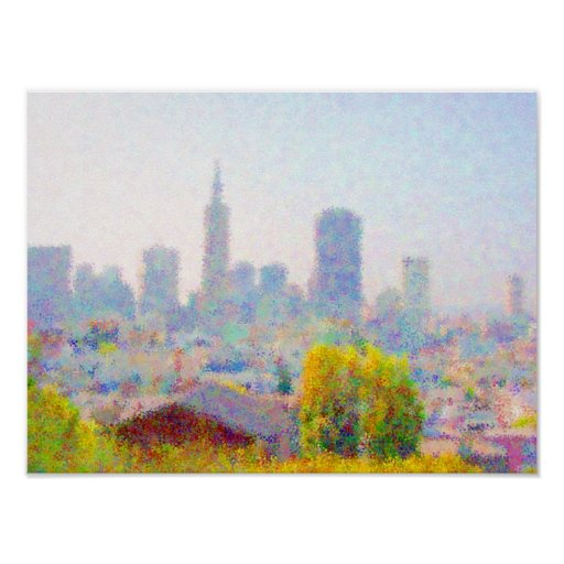 Impresso® Skyline by MB7Art Posters