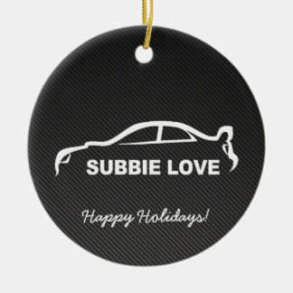Impreza STI Silhouette with Carbon fiber Ceramic Ornament