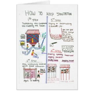Improving Sanitation in a Rural Home Card