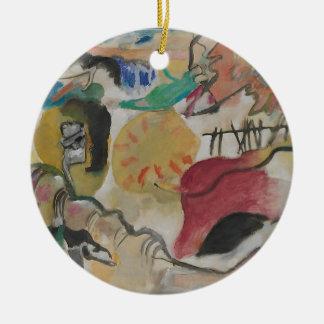 Improvisation 27 ceramic ornament