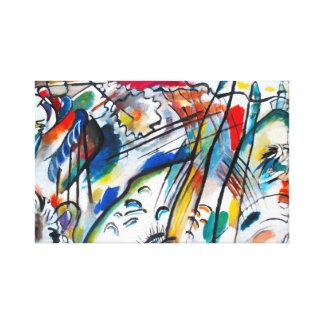 Improvisation 28 de Kandinsky Impressions Sur Toile