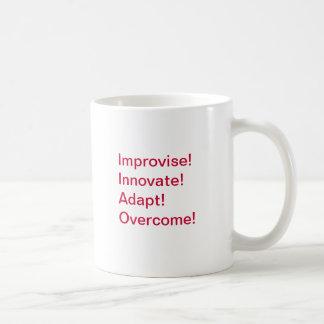Improvise, Innovate, Adapt, Overcome! Coffee Mug