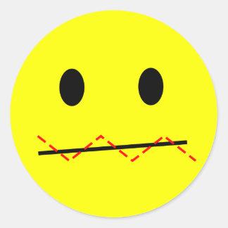 'impulse control ' SMILEY FACE STICKERS