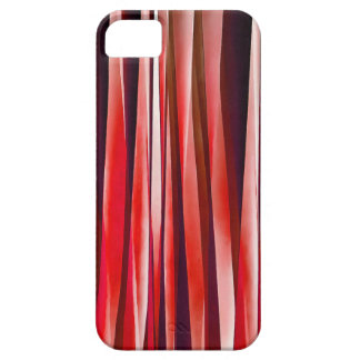 Impulsive Adventure Red Striped Abstract Pattern iPhone 5 Cover