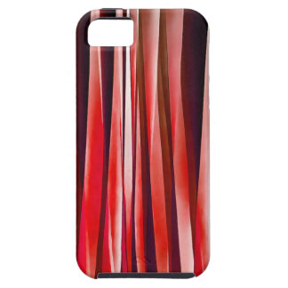 Impulsive Adventure Red Striped Abstract Pattern iPhone 5 Covers