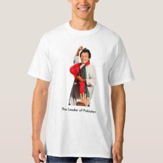 Imran Khan The Leader of Pakistan T-Shirt