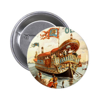 Imre Kiralfy's gorgeous production of Venice 2 Inch Round Button