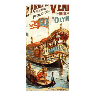 Imre Kiralfy's gorgeous production of Venice Photo Greeting Card
