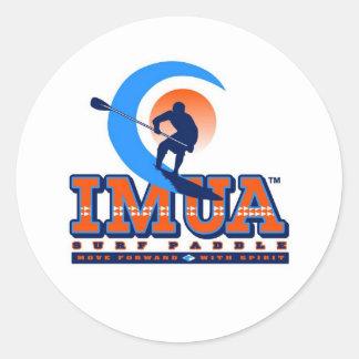 Imua Surf Paddle - Sticker Hawaii