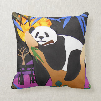 IN A BAMBOO COMA Panda Pillow
