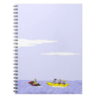In a boat banana the total diversion notebooks