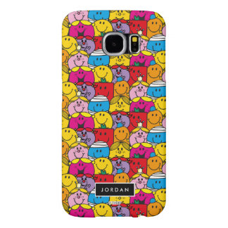 In A Crowd Pattern | Add Your Name Samsung Galaxy S6 Cases