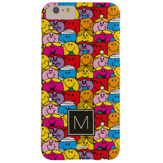 In A Crowd Pattern | Monogram Barely There iPhone 6 Plus Case