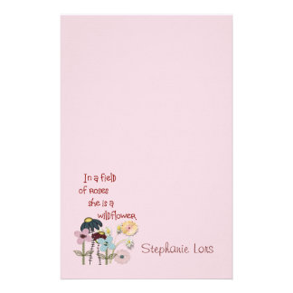 In a Field of Roses -- Stationery