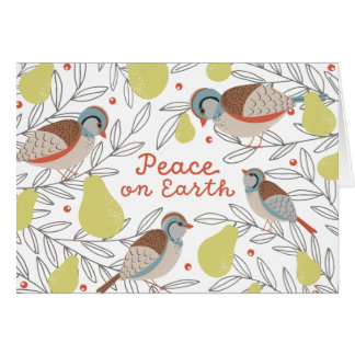 In a Pear Tree Card
