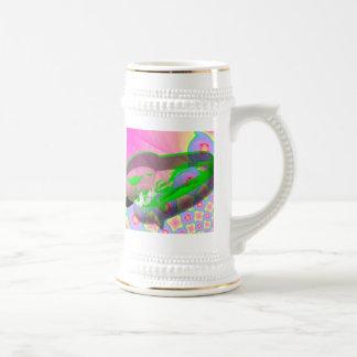 In A Pod 18 Oz Beer Stein