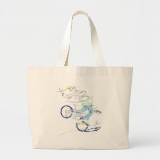In a spin (color) tote bag