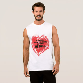 In a World where you can be anything, BE KIND Sleeveless Shirt