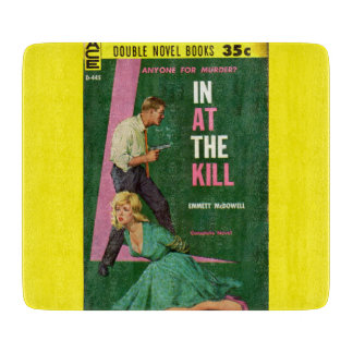In At the Kill pulp novel cover Cutting Boards