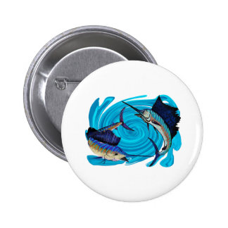 IN ATTACK FORMATION 2 INCH ROUND BUTTON