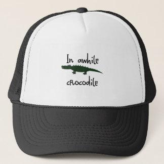 in awhile crocodile trucker hat