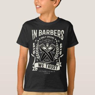 In Barbers We Trust Kids' TAGLESS® T-Shirt