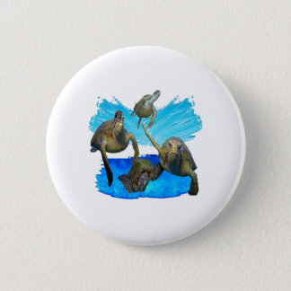 IN BEAUTIFUL WATERS 2 INCH ROUND BUTTON