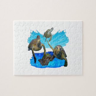 IN BEAUTIFUL WATERS JIGSAW PUZZLE