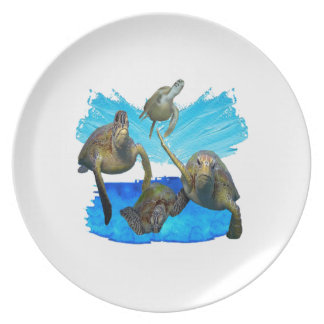 IN BEAUTIFUL WATERS PARTY PLATES