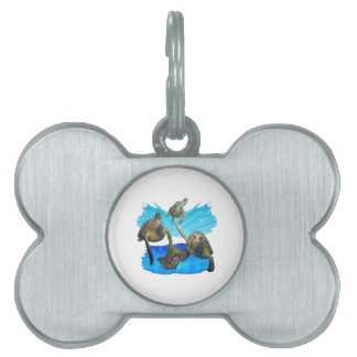 IN BEAUTIFUL WATERS PET ID TAG