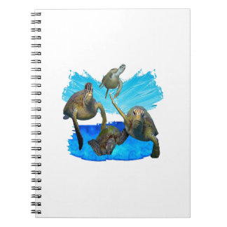 IN BEAUTIFUL WATERS SPIRAL NOTEBOOK