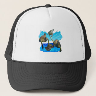 IN BEAUTIFUL WATERS TRUCKER HAT