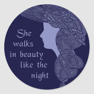 In Beauty Classic Round Sticker