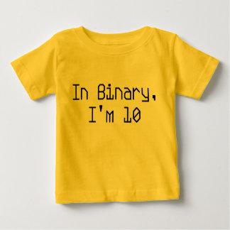 In Binary, I'm 10 Baby T-Shirt