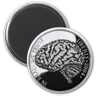 In Brain We Trust Magnet