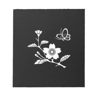 In branch cherry tree medium shade flying notepad